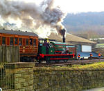 2015 02 08 WVR Keighley Sir Berkeley and Met coaches