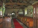 Churches  Cartmel Fell interior.jpg