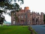 07 08 23  7.00 am  Balloch Castle in rosy dawn and red sandstone.jpg