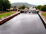 08 10 02  Inverness   Caledonian Canal  Muirtown Flight of locks