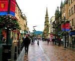 08 10 02  Inverness   High Street and Tolbooth Steeple