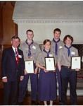 2004/4  Queen's Scouts and High Sheriff.