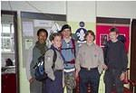 2004/4  Windsor meets Shelley Wood - 7 a.m. St George's day.  Survivors returning; Queen's Scouts departing