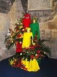 2005/12 Cartmel Priory:  The Three Kings - Dorothy's flower arrangement .jpg