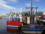 A   Girvan  Boats old and new.jpg